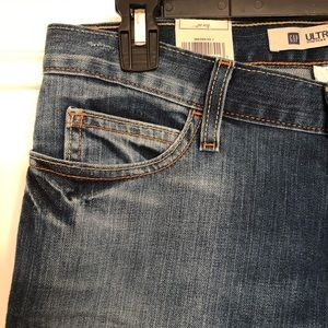 NWT GAP Ultra Low Rise Flared Jeans